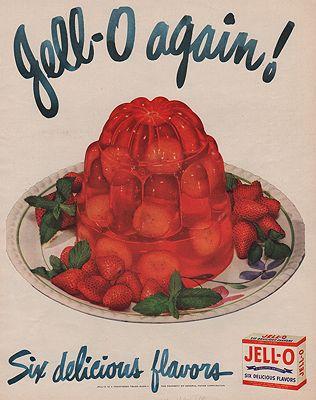 ORIG VINTAGE MAGAZINE AD / 1948 JELL-O ADby: N/A - Product Image