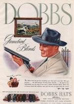 ORIG VINTAGE MAGAZINE AD /1941 DOBBS HAT ADN/A - Product Image