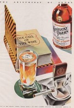 ORIG VINTAGE MAGAZINE AD /1941 KENTUCKY TAVERN WHISKEY ADN/A - Product Image