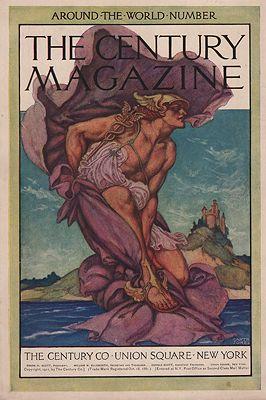 ORIG VINTAGE MAGAZINE COVER/ CENTURY MAGAZINE - NOVEMBER 1911illustrator- Garth   Jones - Product Image