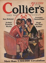 ORIG VINTAGE MAGAZINE COVER/ COLLIERS - APRIL 12 1930by- Paus (Illust.), Herbert, Illust. by: Herbert  Paus - Product Image