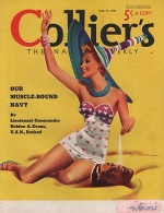 ORIG VINTAGE MAGAZINE COVER/ COLLIERS - JUNE 11 1938by- Whitcomb (Illust.), Jon, Illust. by: Jon  Whitcomb - Product Image