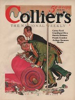 ORIG VINTAGE MAGAZINE COVER/ COLLIERS - JUNE 20 1931by- Paus (Illust.), Herbert, Illust. by: Herbert  Paus - Product Image
