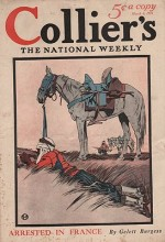 ORIG VINTAGE MAGAZINE COVER/ COLLIERS - MARCH 6 1915by- Penfield (Illust.), Edward, Illust. by: Edward  Penfield - Product Image