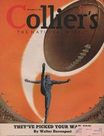 ORIG VINTAGE MAGAZINE COVER/ COLLIERS - NOVEMBER 4 1939by- Heier (Illust.), Henry, Illust. by: Henry  Heier - Product Image