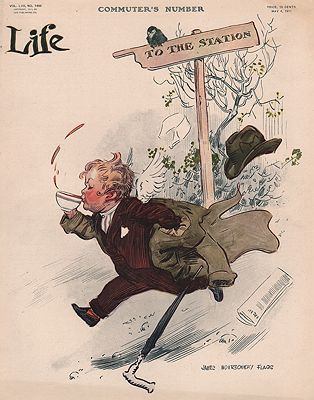 ORIG VINTAGE MAGAZINE COVER/ LIFE - MAY 4 1911illustrator- James Montgomery  Flagg - Product Image