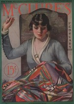 ORIG VINTAGE MAGAZINE COVER/ MCCLURE'S - FEBRUARY 1918by- McMein (Illust.), Neysa, Illust. by: Neysa  McMein - Product Image
