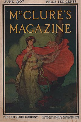 ORIG VINTAGE MAGAZINE COVER/ MCCLURE'S MAGAZINE JUNE 1907by: Campbell (Illust.), Blendon - Product Image