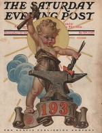 ORIG VINTAGE MAGAZINE COVER/ SATURDAY EVENING POST - DECEMBER 17 1930by- Leyendecker, J.C. - Product Image