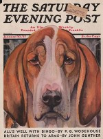 ORIG VINTAGE MAGAZINE COVER/ SATURDAY EVENING POST - JANUARY 30 1937by- Bransom (Illust.), Paul, Illust. by: Paul  Bransom - Product Image