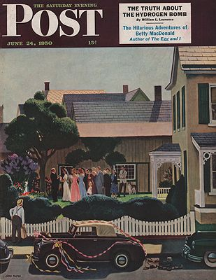 ORIG VINTAGE MAGAZINE COVER/ SATURDAY EVENING POST - JUNE 24 1950by: Falter (Illust.), John - Product Image