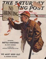 ORIG VINTAGE MAGAZINE COVER/ SATURDAY EVENING POST - OCTOBER 28 1939by- Crockwell (Illust.), Douglass, Illust. by: Douglass  Crockwell - Product Image