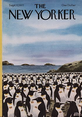 ORIG VINTAGE MAGAZINE COVER/ THE NEW YORKER - SEPTEMBER 12 1977by: Addams (Illust.), Chas - Product Image