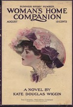 ORIG VINTAGE MAGAZINE COVER/ WOMAN'S HOME COMPANION - AUGUST 1909by- Hutt (Illust.), Henry, Illust. by: Henry  Hutt - Product Image