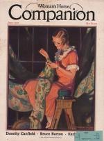 ORIG VINTAGE MAGAZINE COVER/ WOMAN'S HOME COMPANION - JUNE 1931by- Hayden (Illust.), Hayden, Illust. by: Hayden  Hayden - Product Image