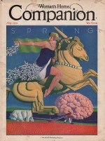 ORIG VINTAGE MAGAZINE COVER/ WOMAN'S HOME COMPANION - MAY 1931by- Welsh (Illust.), William, Illust. by: William   Welsh - Product Image