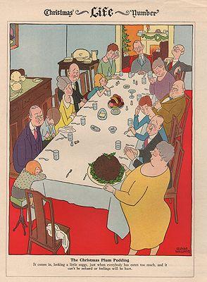 ORIG VINTAGE MAGAZINE ILLUSTRATION/ LIFE MAGAZINE DECEMBER 1927by: Williams (Illust.), Gluyas - Product Image