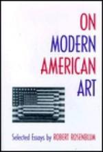 On Modern American ArtRosenblum, Robert - Product Image