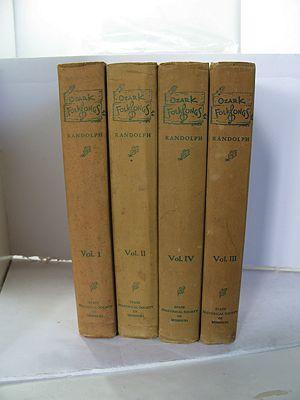 Ozark Folksongs - Four Volumesby: Randolph, Vance/Floyd C. Shoemaker/Frances G. Emberson - Product Image