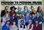 Person to Person Music (POSTER)Weaver, Robert, Illust. by: Robert  Weaver - Product Image
