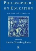 Philosophers on Education: New Historical Perspectivesby: Rorty, Amelie - Product Image