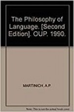 Philosophy of Language, The Martinich, A. P. (Editor) - Product Image