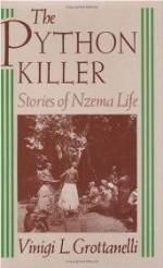 Python Killer, The : Stories of Nzema Lifeby: Grottanelli, Vinigi L. - Product Image