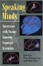 SPEAKING MINDS: INTERVIEWS WITH TWENTY EMINENT COGNITIVE SCIENTISTSPayr, Sabine (Editor) - Product Image