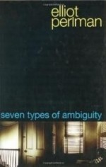 Seven Types of Ambiguityby: Perlman, Elliot - Product Image