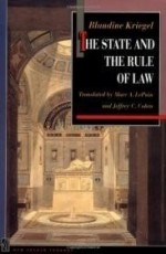 State and the Rule of Law, The by: Kriegel, Blandine - Product Image