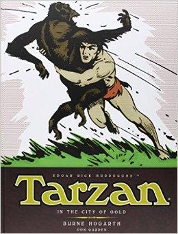 Tarzan - In the City of Gold 1: The Complete Burne Hogarth Sundays and Dailies Libraryby: Hogarth, Burne - Product Image