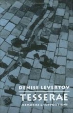 Tesserae: Memories & Suppositionsby: Levertov, Denise - Product Image