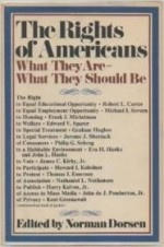 The Rights of Americans: What they are--what they should beby: Norman, ed. DORSEN - Product Image