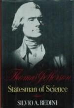 Thomas Jefferson: Statesman of Scienceby: Bedini, Silvio A. - Product Image