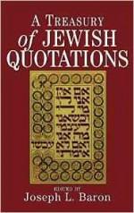 Treasury of Jewish Quotations, ABaron, Joseph l - Product Image