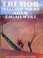 Tremot: Selected PoemsZagajewski, Adam - Product Image
