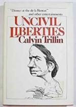 Uncivil Libertiesby: Trillin, Calvin - Product Image