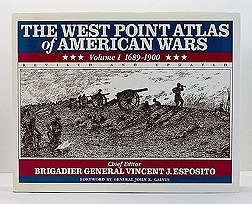 West Point Atlas of American Wars - Revised & Updated - 2 Volumes, Theby: Esposito, Brigadier General Vincent J. - Product Image