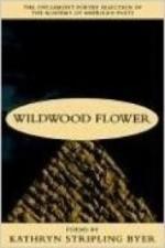 Wildwood Flower: Poemsby: Byer, Kathryn Stripling - Product Image