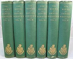 Works of Daniel Webster, The: Complete 6 Volumesby: Webster, Daniel  - Product Image