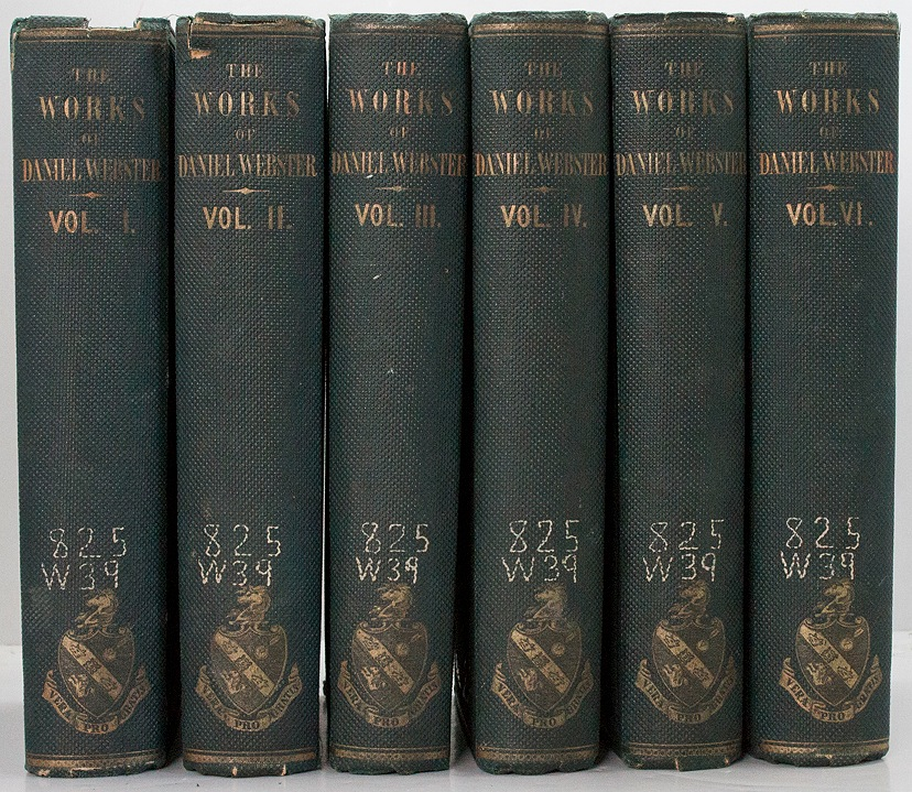 Works of Daniel Webster, Theby: n/a - Product Image