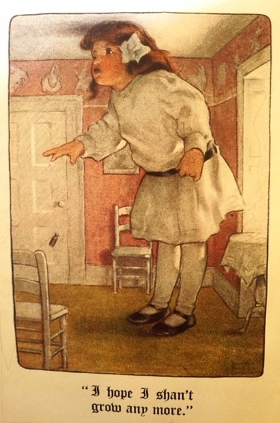 Bessie Pease Gutmann's Alice is a somewhat chubby brunette toddler